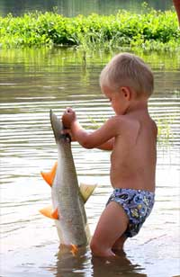 Молодой рыбак