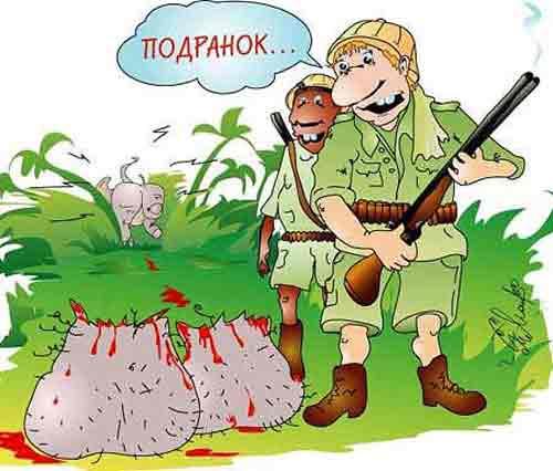 Юмор охотников