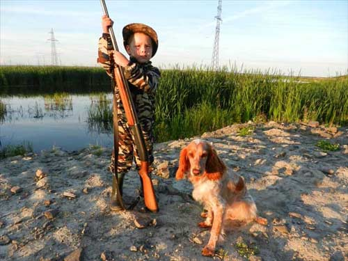 молодой охотник