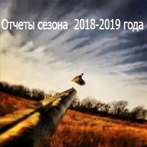 Отчет сезона 2018-2019 года